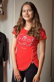 T-shirt met steentjes_